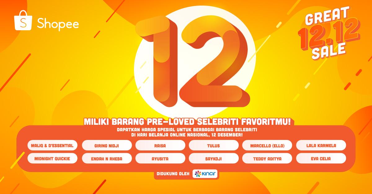 Direct Release Shopee Umumkan Kampanye Harbolnas 12 12 12 Selebriti Papan Atas Akan Buka Toko Pribadi Jagat Review