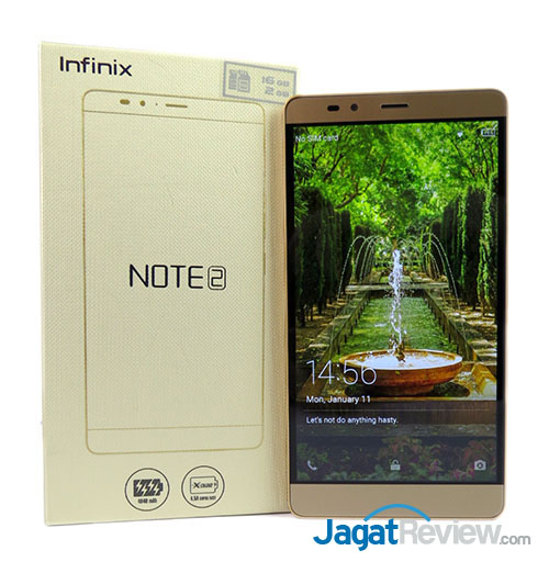 Review Smartphone Android: Infinix Note 2 LTE X600 | Jagat Review