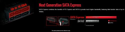 GIGABYTE Z170X-Gaming G1 SATA Express