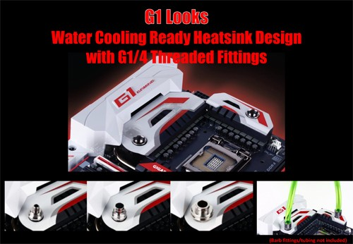 GIGABYTE Z170X-Gaming G1 Watercooling