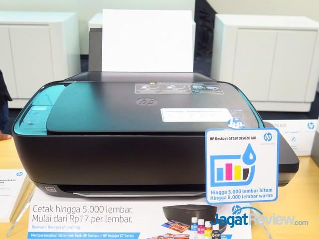 Biaya Cetak Lebih Hemat Hp Luncurkan 2 Tipe Deskjet Gt Series Terbaru Jagat Review
