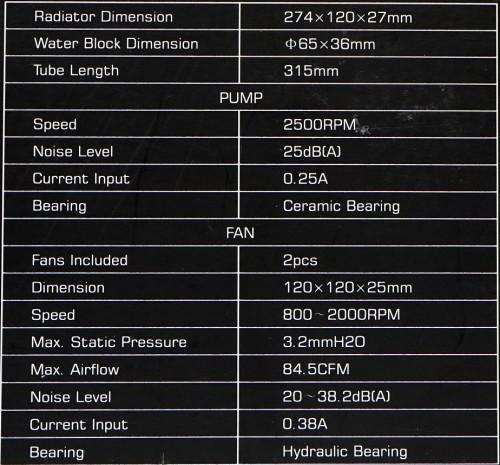 spec frosflow 240L