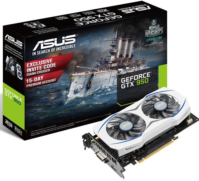 Asus GTX 950 2 GB
