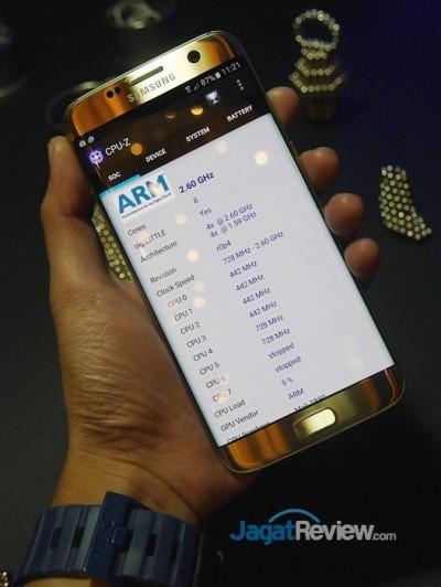 CPU-Z Galaxy S7 Edge