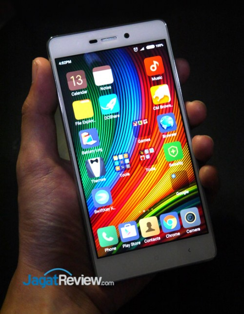 Review Smartphone Android Xiaomi Redmi 3 Jagat Review