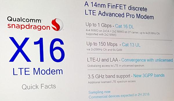 X16 modem