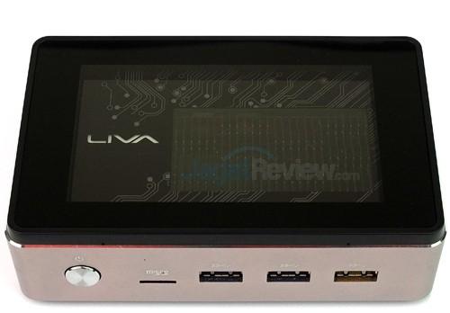 ECS LIVA Core Top Side