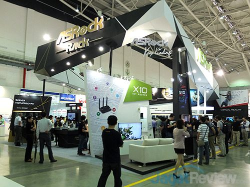 Computex 2016 - ASRock Booth 01