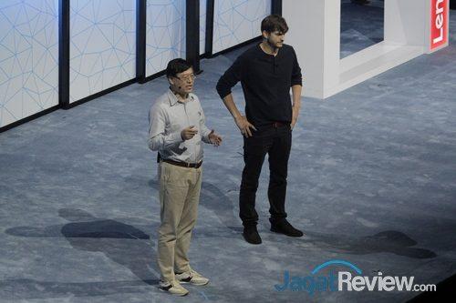 Lenovo - YY & Aston Kutcher - Tech World 2016