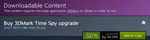 3DMark Time Spy Price