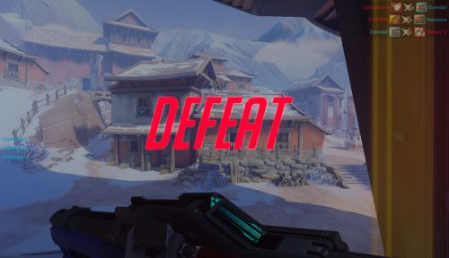 Overwatch defeat