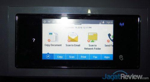 panel touchscreen