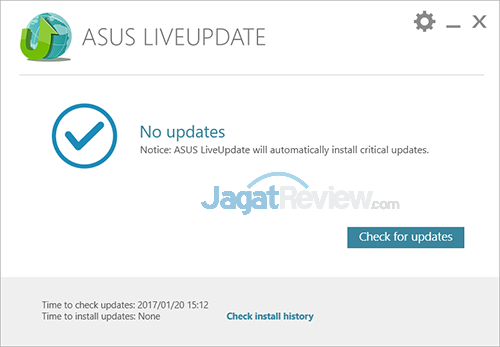 ASUS ROG STRIX GL702VM LiveUpdate