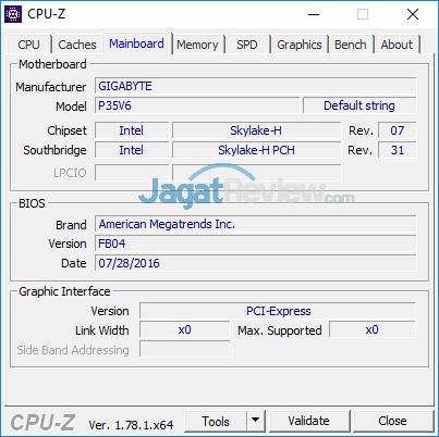 Gigabyte P35X v6 CPUZ 03