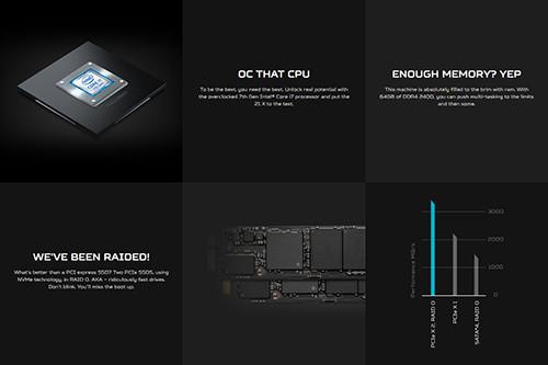 Acer Predator 21X CPU RAM Storage