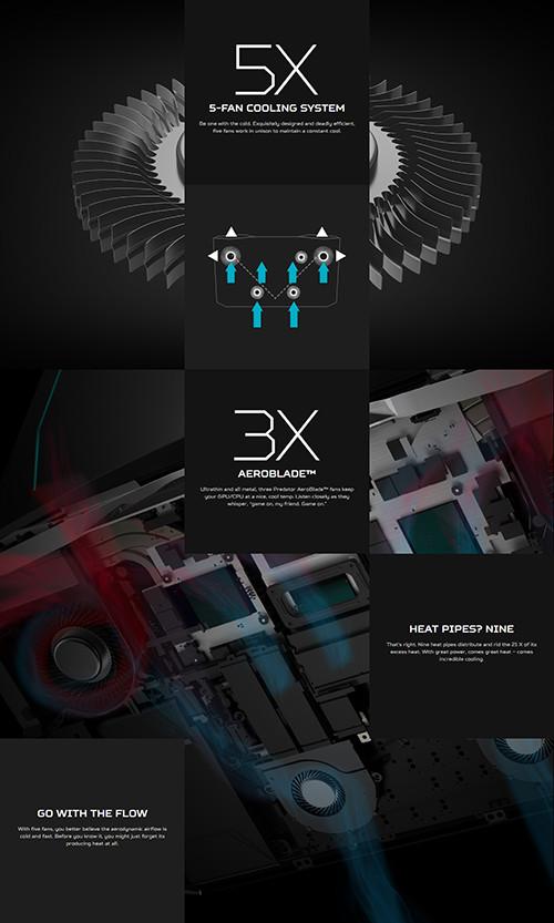 Acer Predator 21X Cooler