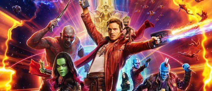 Guardians of the Galaxy Vol 2 poster header