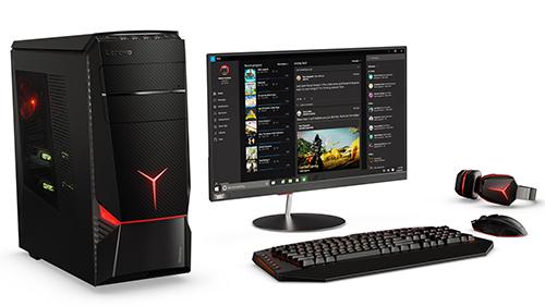 Lenovo IC Y900 On Desktop