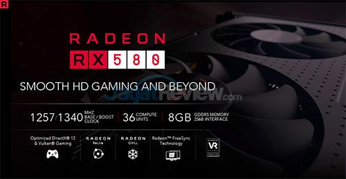 Review Graphics Card: Powercolor Red Devil RX 580 8GB GDDR5