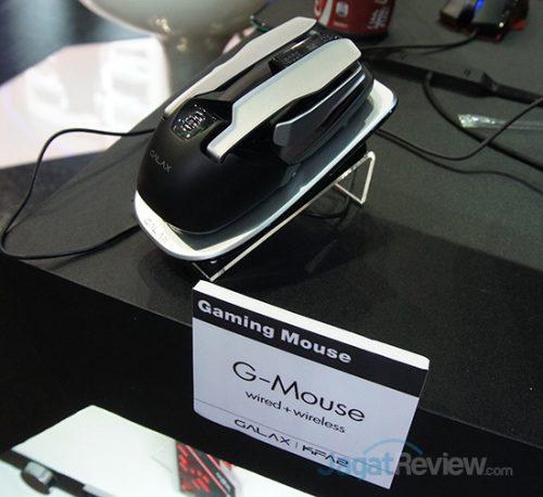 Mouse Gaming terbaru dari Galax yang bisa menggunakan kabel atau wireless