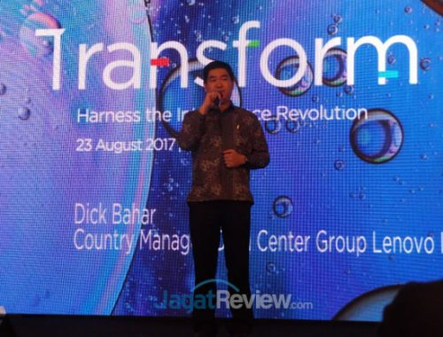 Dick Bahar, Country Manager, Data Center Group, Lenovo Indonesia