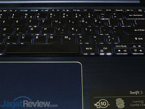 Acer Swift 3 SF314 52G Keyboard Backlit