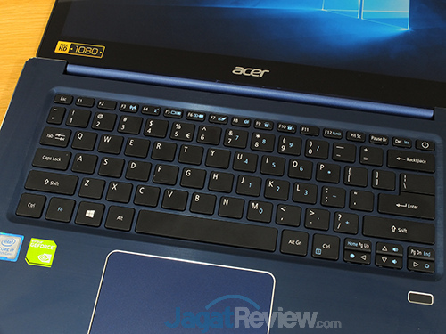 Acer Swift 3 SF314 52G Keyboard