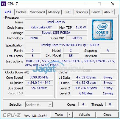 Acer E5 476G CPUZ 01