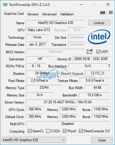 HP Omen 15 ce085TX GPUZ 02