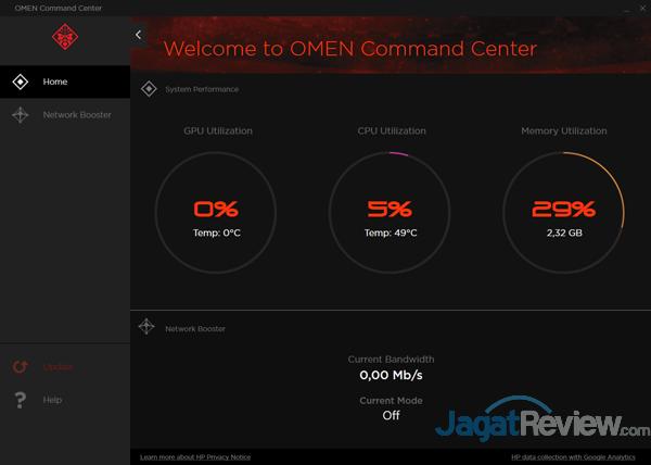 HP Omen 15 ce085TX OMEN Command Center 01