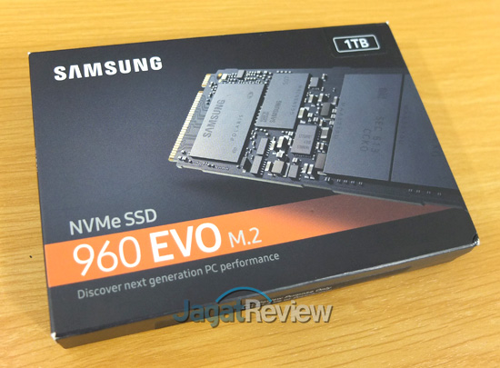 Review Storage: Samsung 960 EVO M 2 1 TB | Jagat Review