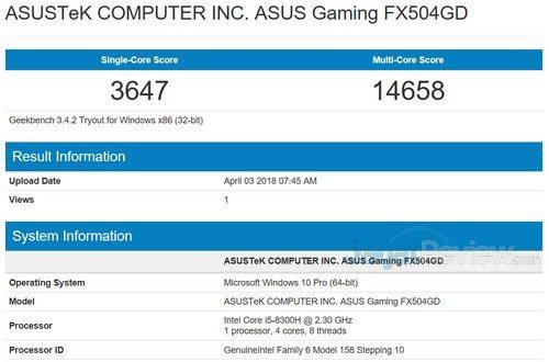 ASUS TUF Gaming FX504 04