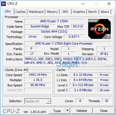 Acer Aspire GX 281 CPUZ 01
