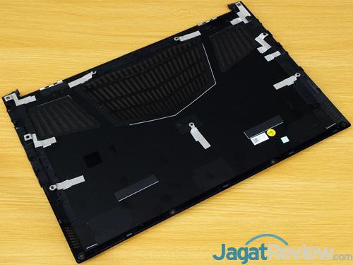 Gigabyte Aero 15X v8 Bottom Cover