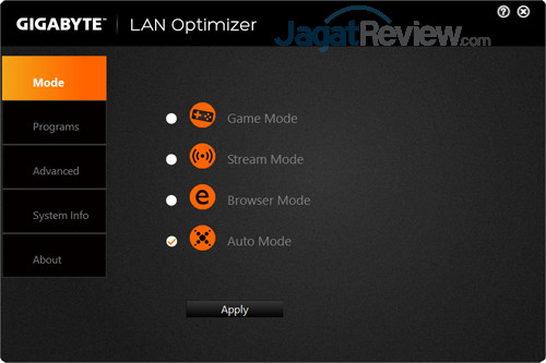 Gigabyte Aero 15X v8 LAN Optimizer 01