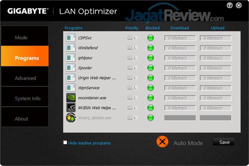 Gigabyte Aero 15X v8 LAN Optimizer 02