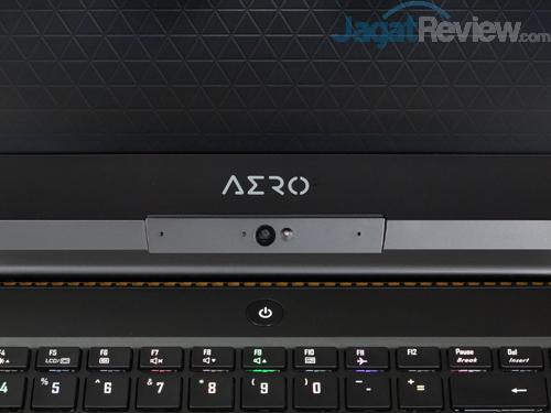 Gigabyte Aero 15X v8 Power Button Webcam