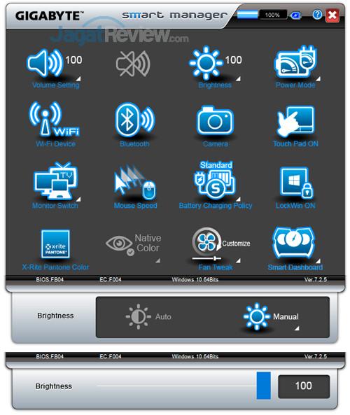 Gigabyte Aero 15X v8 Smart Manager 04