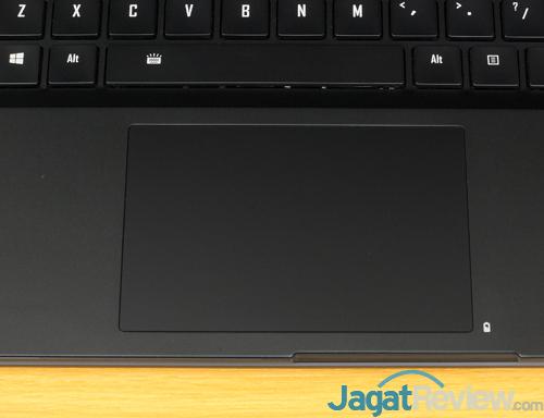 Gigabyte Aero 15X v8 Touchpad