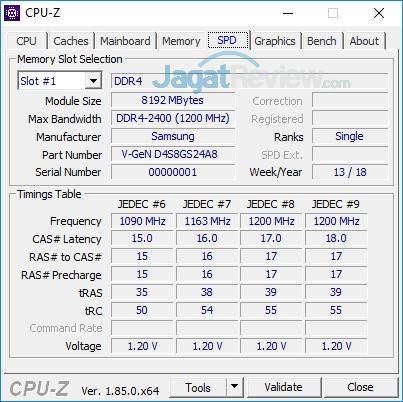 Intel NUC8i7HVK CPUZ 04