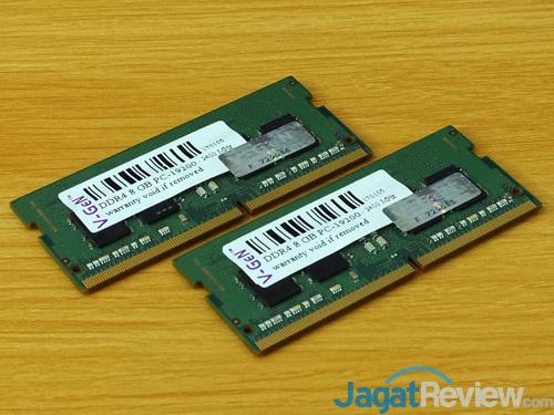 Intel NUC8i7HVK Memory