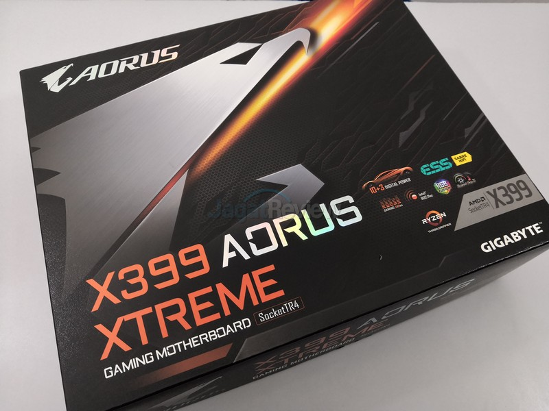 Hands-On Review Motherboard Gigabyte X399 Aorus Xtreme