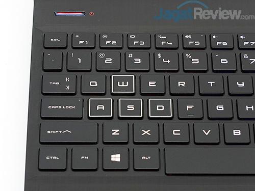 HP Omen 15 dc0036tx ASDW Buttons