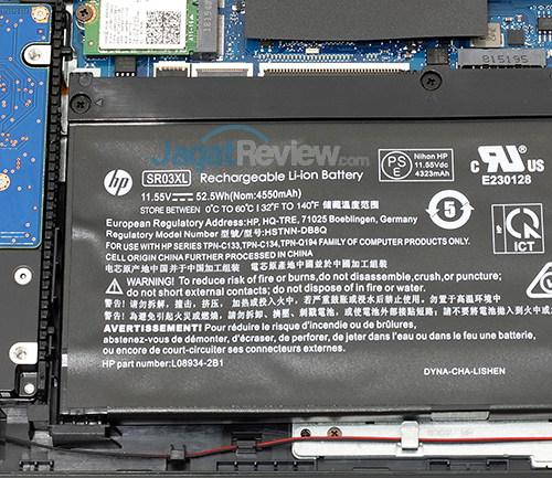 HP Omen 15 dc0036tx Battery