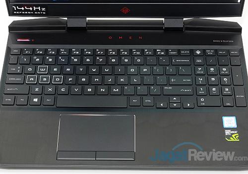 HP Omen 15 dc0036tx Keyboard TouchPad
