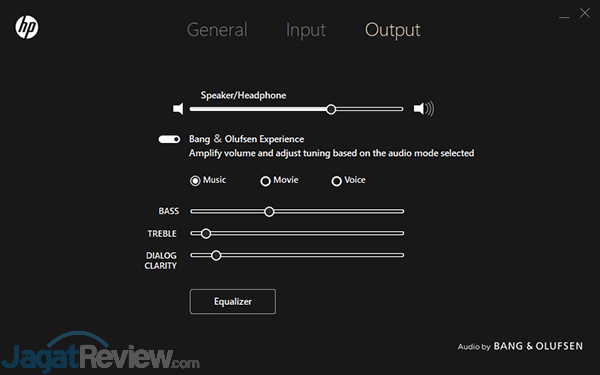 HP Omen 15 dc0036tx OMEN Audio Control 07