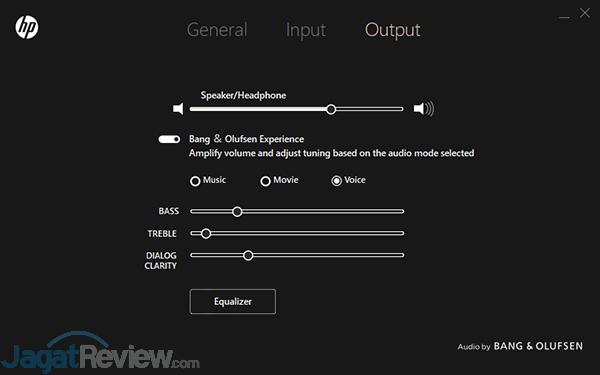 HP Omen 15 dc0036tx OMEN Audio Control 09