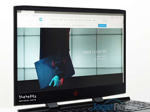 HP Omen 15 dc0036tx Screen