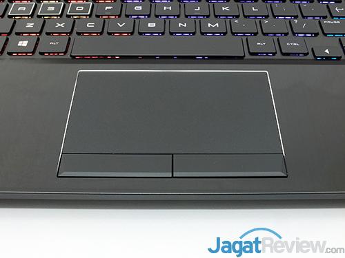 HP Omen 15 dc0036tx TouchPad