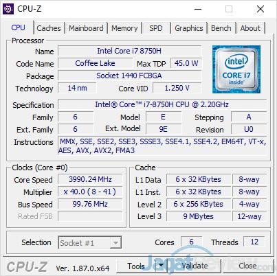Dell G7 15 7588 CPUZ 01